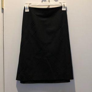 Women's black business skirt